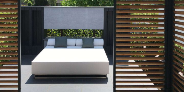 This Large Outdoor Daybed Takes Outdoor Living Comfort to the Next Level